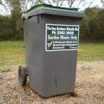 garden bin - large